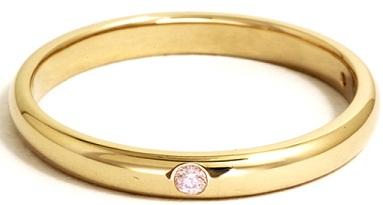 Gold Ring Design In Plain