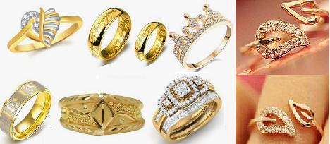 Gold Jewellery Finger Rings