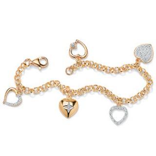 gold-bracelets-for-women-extravagant-diamond-pendants-in-gold-bracelet