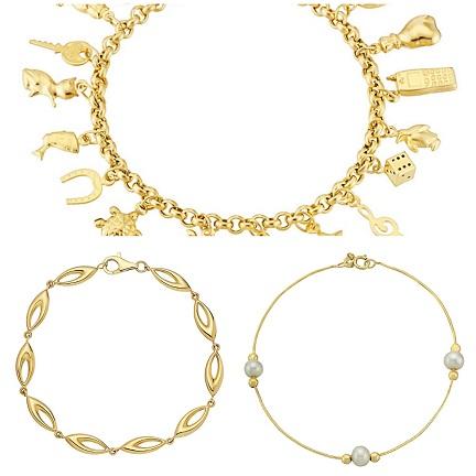 gold-bracelets-for-women-lucky-charm-gold-bracelets