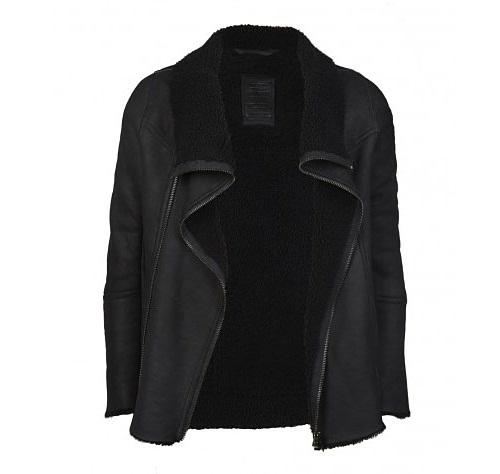 Allsaints Jut Leather Jacket
