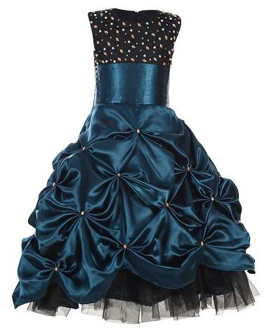 Sleeveless Princess Dress For 5 Year Girl