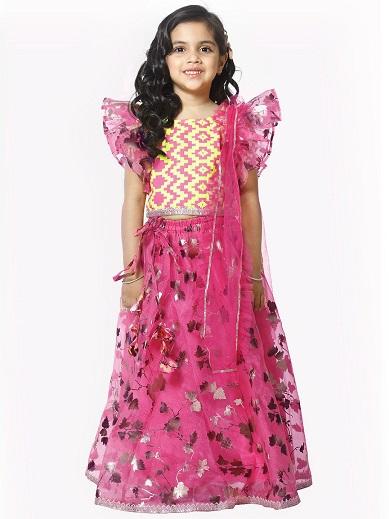 Readymade Lehenga For 5 Year Old Girl