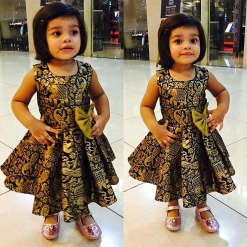 Banarasi Baby Frock