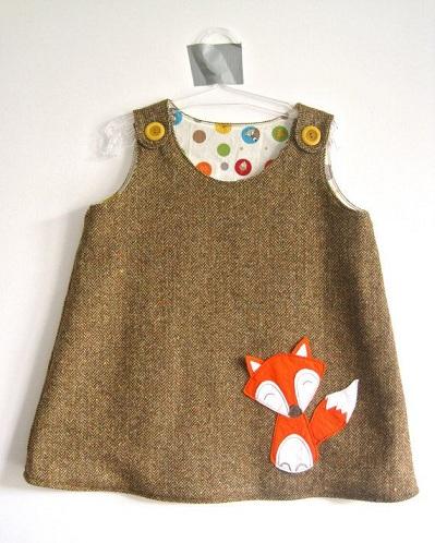 Wool Baby Frock