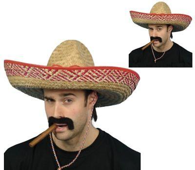 Mexican Bandit Straw Big Hats