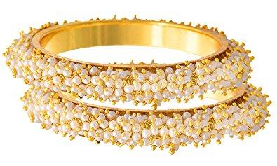 Gold and Pearl kada
