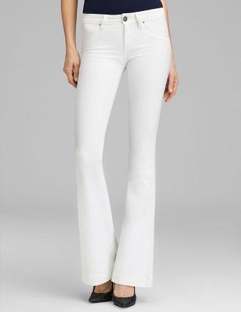 Bell Bottom High Rise Jeans