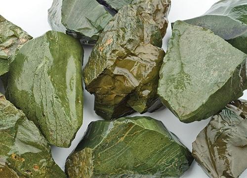 The jadeite gemstone