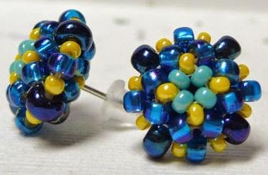 beaded-stud-earrings4