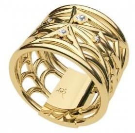 big gold rings