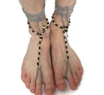 crochet-anklets