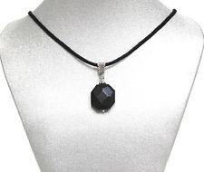 Onyx Gemstone Black thread Necklace