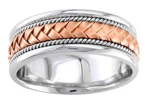 Unique Rose Gold Rings for Men