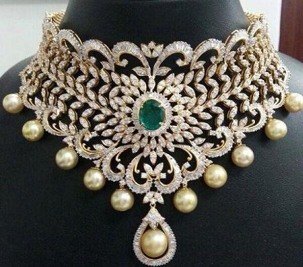 unique-diamond-choker-necklace-8