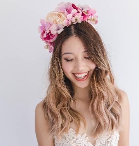 Natural Floral Headbands