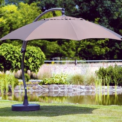 Octagonal Cantilever Garden Umbrellas