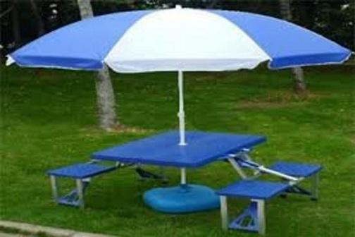 Garden Umbrellas with Adjustable Shaft