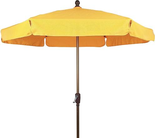 Textilene Fabric Garden Umbrellas