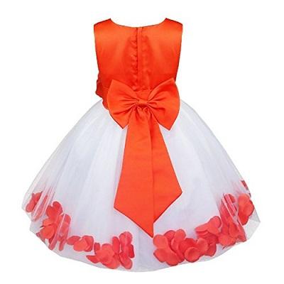 9 Beautiful and Stylish Orange Dress Designs for Women