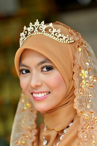 Classic Hijab with Tiara