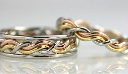 Christian Cord of Three Wedding Rings