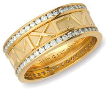 Personalised Wedding Rings