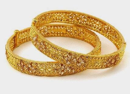 1 gram gold Bangles