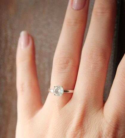 1 Carat Diamond Solitaire Ring
