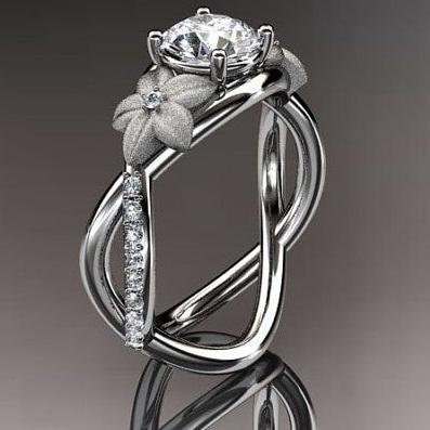 1 Carat Diamond Designer Ring