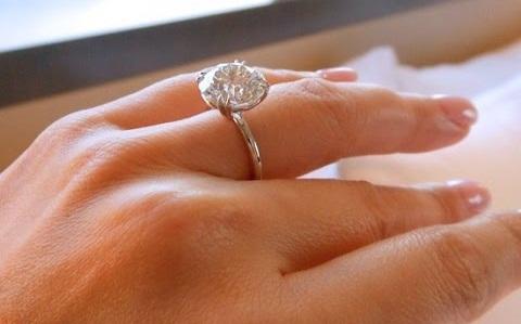 5 Carat Princess Cut Diamond Ring