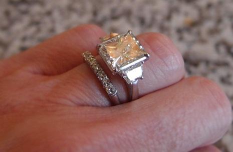 5 Carat Radiant Cut Diamond Ring