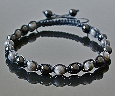 Black Pearl Anklets for Men
