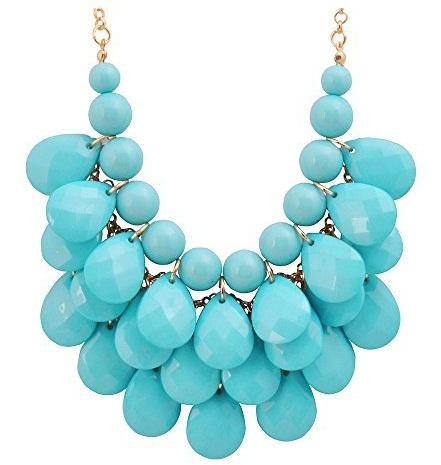 Stone chunky necklace