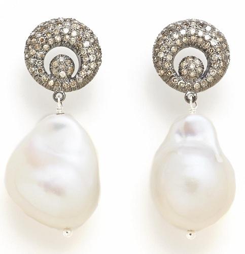 Drop Baroque Earrings