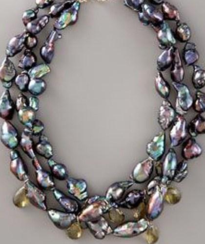 Black Baroque Pearls