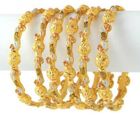 Gold Bold Bangles