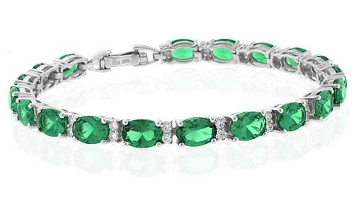 May Birthstone bracelet