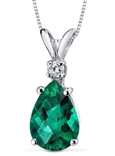 May Birthstone pendant