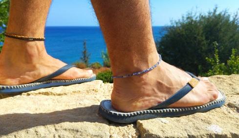 Gemstone Foot anklet for Men