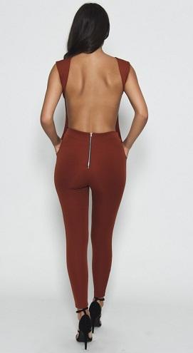 Scuba Backless Jumpsuit