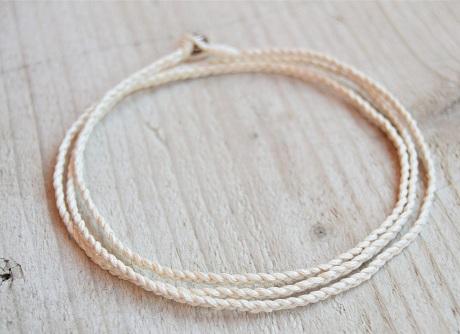 Fancy Braided Rope Anklet for Men