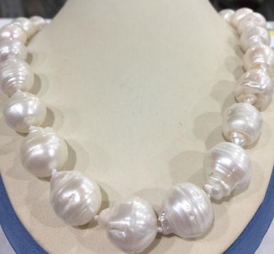 Off White Keshi Pearls Jewelry