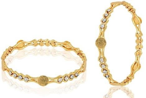 Rolled Gold Bangle Design Model