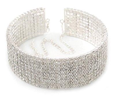 Crystal Choker Necklace