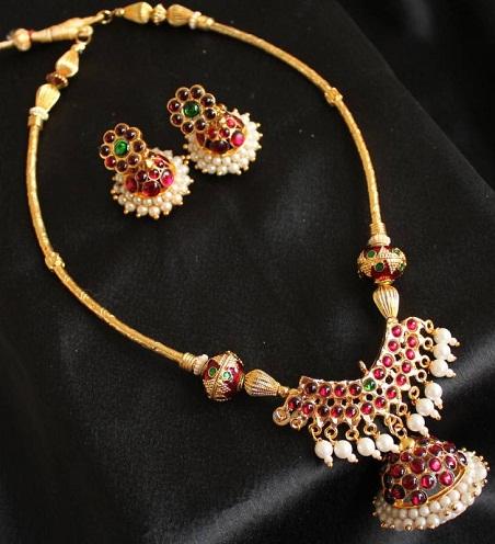 artificial temple jewellery