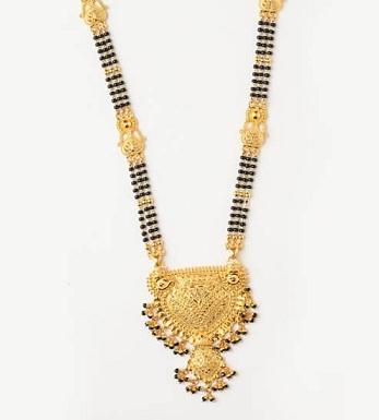 1 Gram Thick Chain Gold Mangalsutra