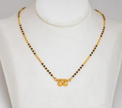 1 Gram Gold Marathi Mangalsutra