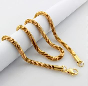 Round 18k Gold Chain