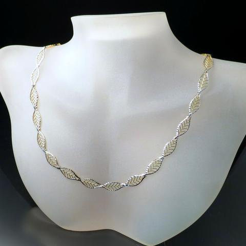Contemporary design 18k Gold Chain